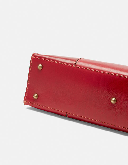 Borsa shopping Warm and Colour grande design rectangular  Cuoieria Fiorentina