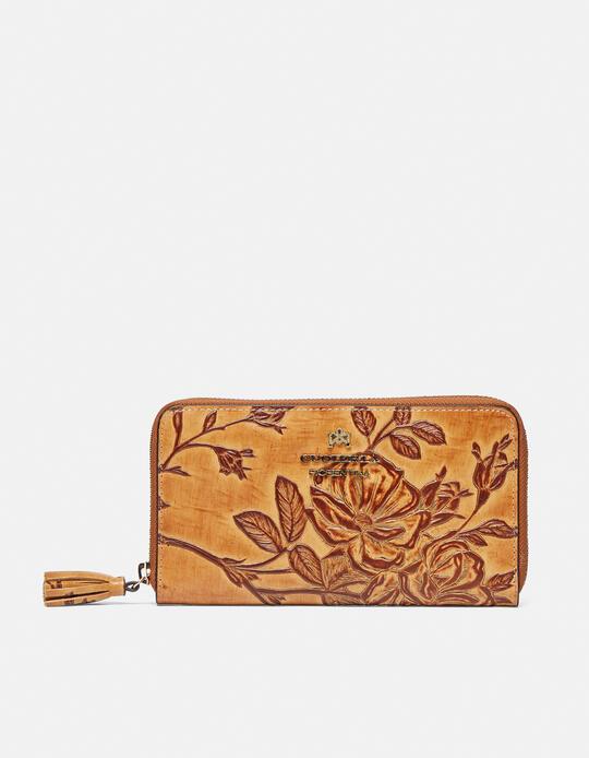 Large zip around Mimì wallet  Cuoieria Fiorentina