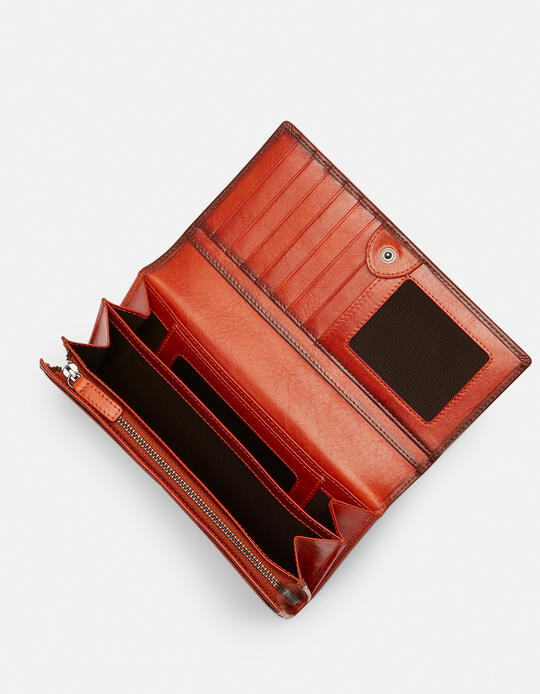Anti-rfid leather wallet Warm and colour  Cuoieria Fiorentina