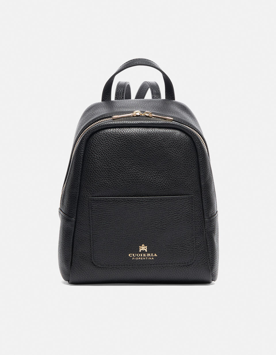 Small backpack in hammered calf leather  Cuoieria Fiorentina