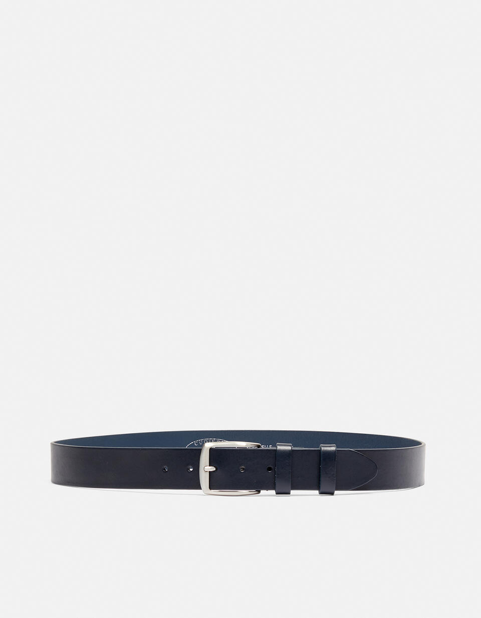CLASSIC LEATHER BELT WITHOUT SEAMS HEIGHT 4,0 CM  Cuoieria Fiorentina