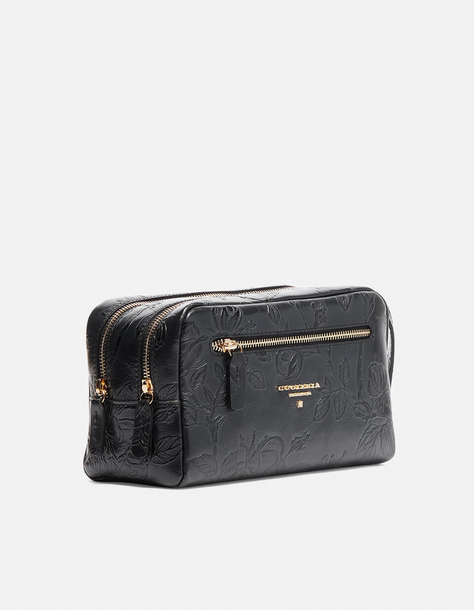 Classic Mimì beauty case with two compartments  Cuoieria Fiorentina