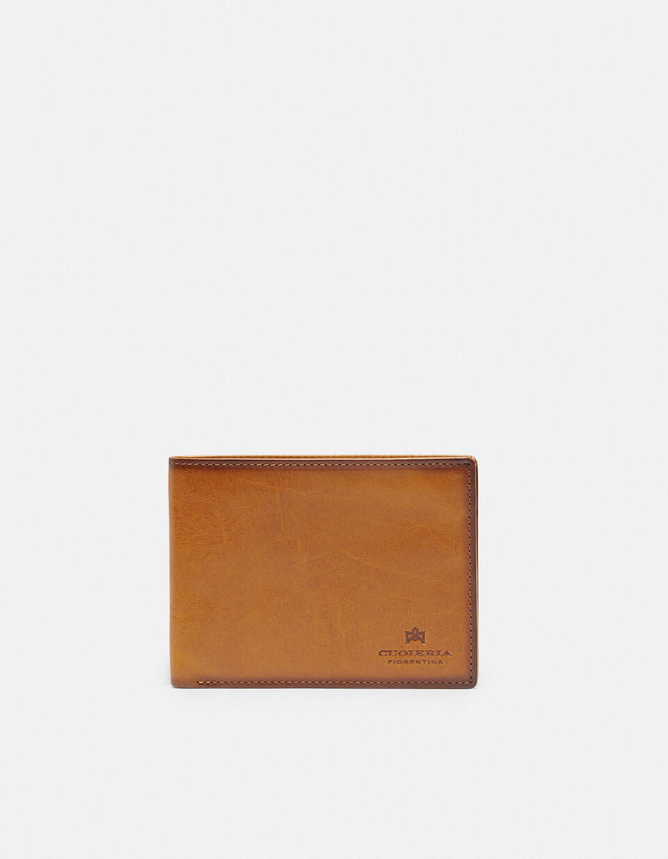 Leather Warm and Color Anti-RFid Wallet  Cuoieria Fiorentina