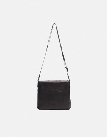 Bourbon men's leather messenger bag
