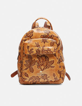 Mimì backpack with front pocket and adjustable straps