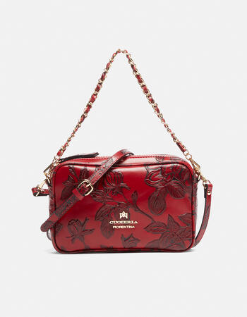 Mini shoulder mimì bag with two shoulder straps