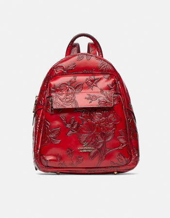 Large mimì backpack with double zip closure