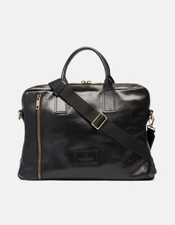 """Tokio men's briefcase for pc 15.6 """"in soft leather"""