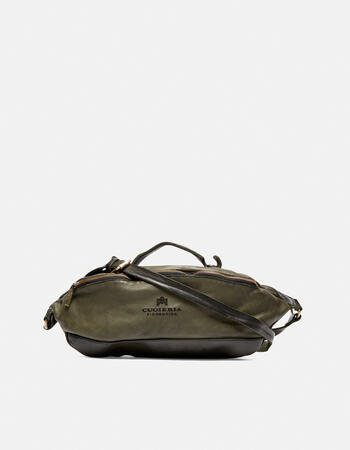 Millennial pouch in natural leather