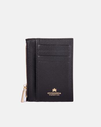 Bella card holder with zip.