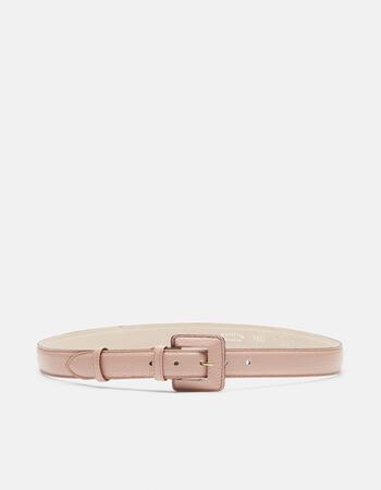 Velvet cintura con fibbia fasciata
