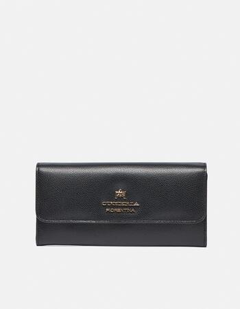 Large bi-fold bella wallet