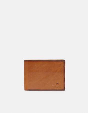 Anti-rfid warm and color wallet with coin purse and leather flap