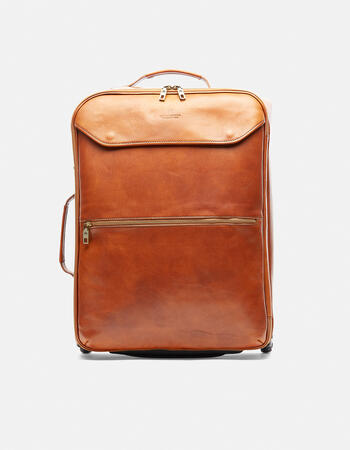 Oxford leather trolley