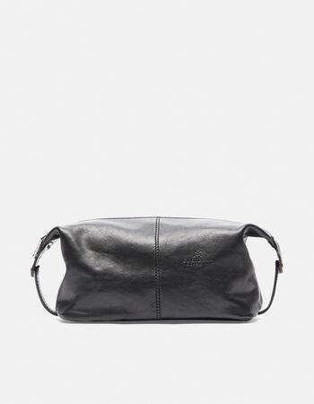 Leather necessaire