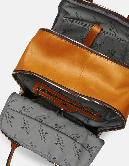Tokio large backpack in soft leather GIALLO Cuoieria Fiorentina