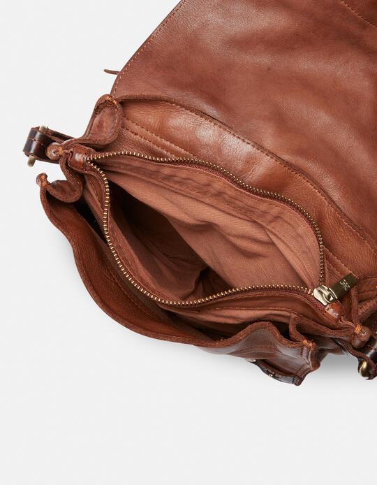 Millennial bag in natural leather BRUCIATO Cuoieria Fiorentina