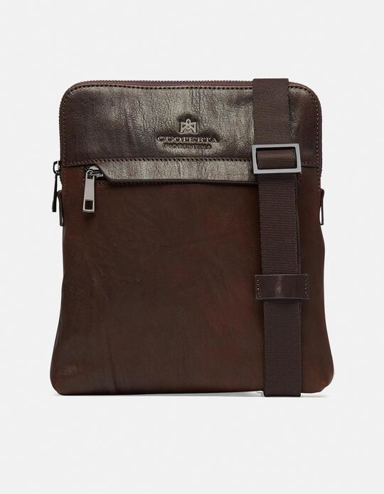 Bourbon iPad bag TESTA DI MORO Cuoieria Fiorentina