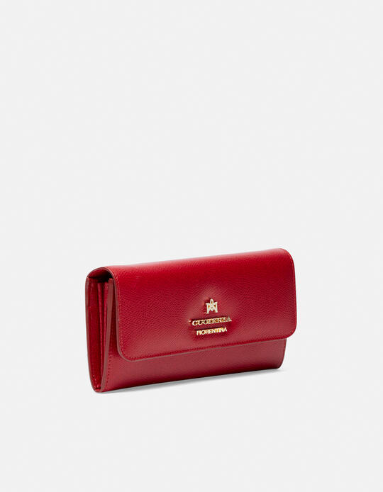 Large bi-fold Bella wallet RUBINO Cuoieria Fiorentina