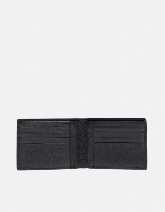 Anti-rfid Calf wallet NERO Cuoieria Fiorentina