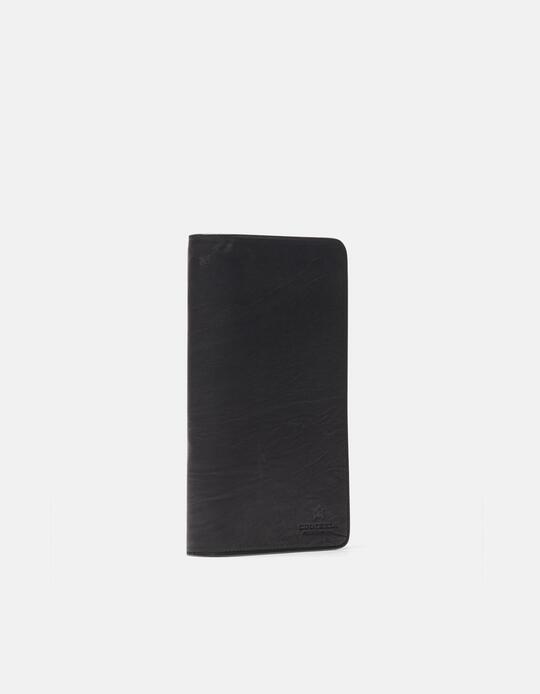 Bourbon wallet / clutch bag NERO Cuoieria Fiorentina