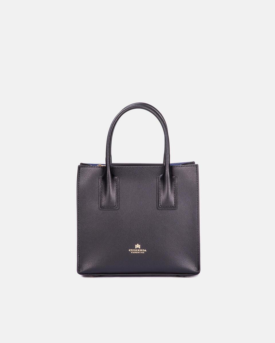 Mini bag in printed calf leather NERO Cuoieria Fiorentina