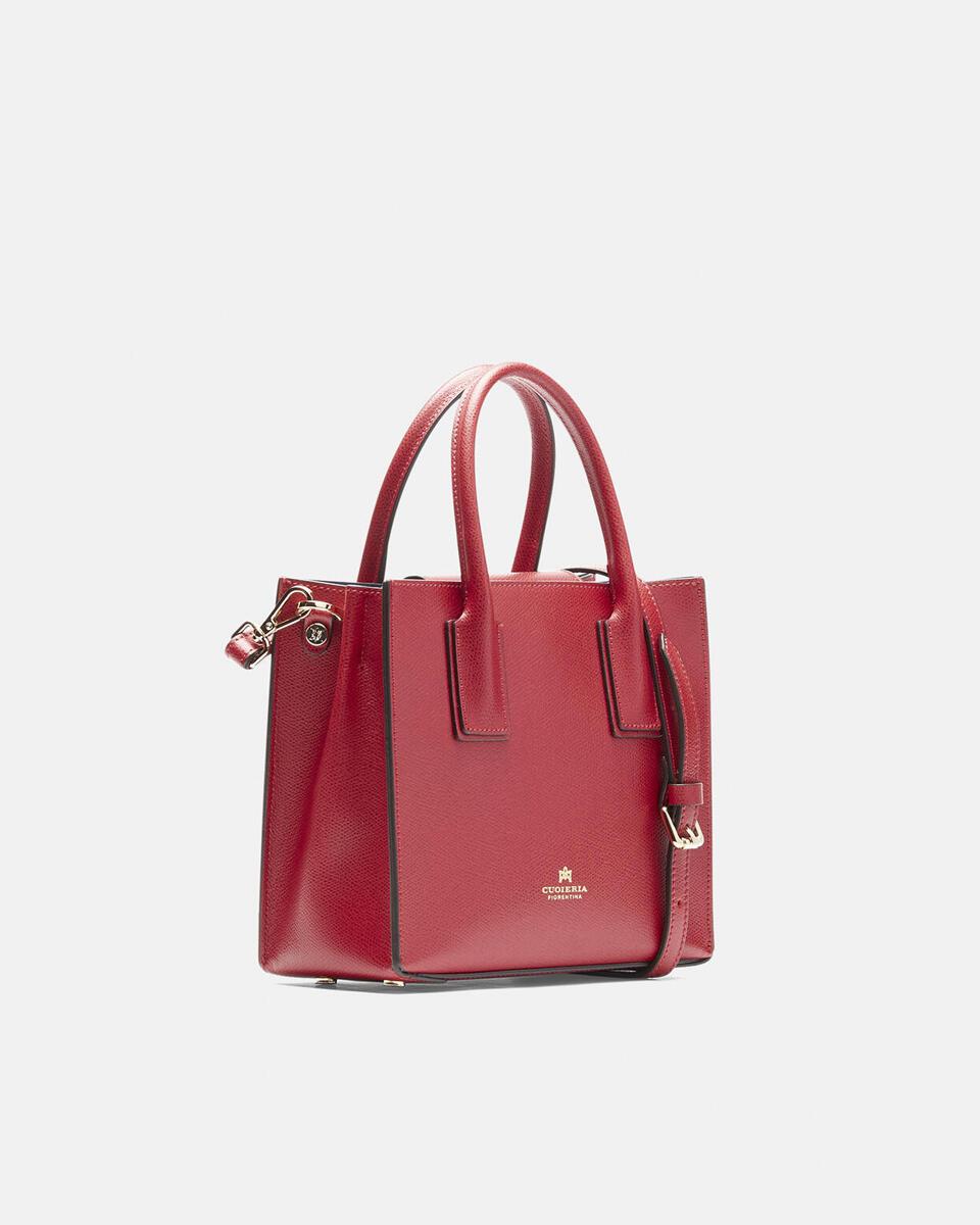 Mini bag in printed calf leather RUBINO Cuoieria Fiorentina