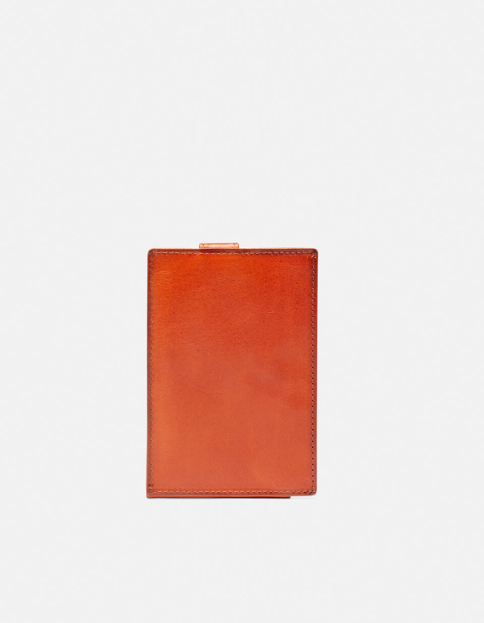 Warm and Color Anti-RFID cardholder ARANCIO Cuoieria Fiorentina